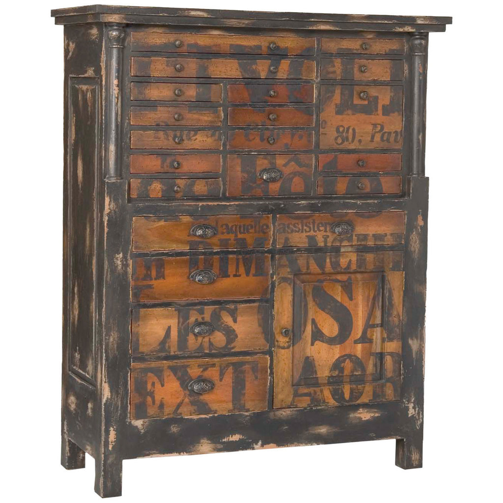 French Printer's Chest