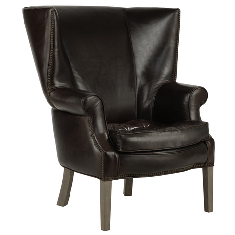 Henderson Tufted Seat Wing Chair