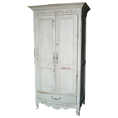 Honfleur French Country Carved Armoire