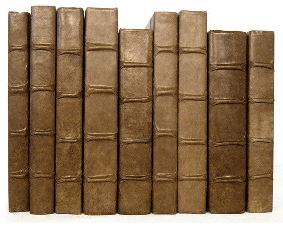 Linear Foot of Solid Cocoa Books
