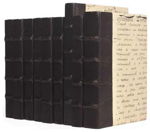 Linear Foot of Solid Black Books