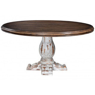 Mahogany Round 60 Inch Pedestal Table