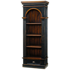 Mahogany Single Bookcase