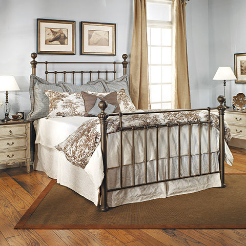 Old Biscayne Ayr Antique Wrought Iron Bed