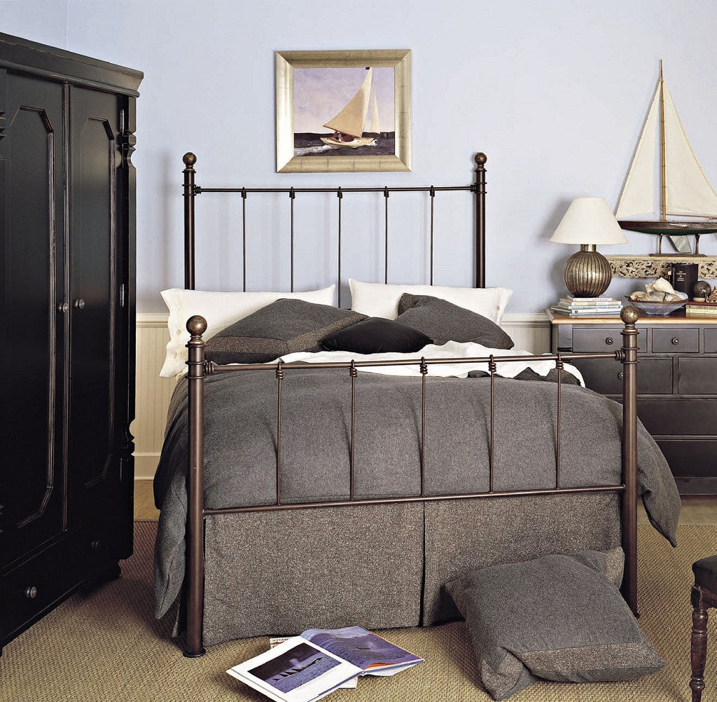 Old Biscayne Bernadette Cottage Wrought Iron Bed – Custom ...