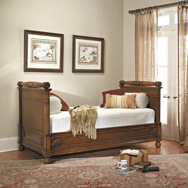 Old Biscayne Coretta French Wood Daybed