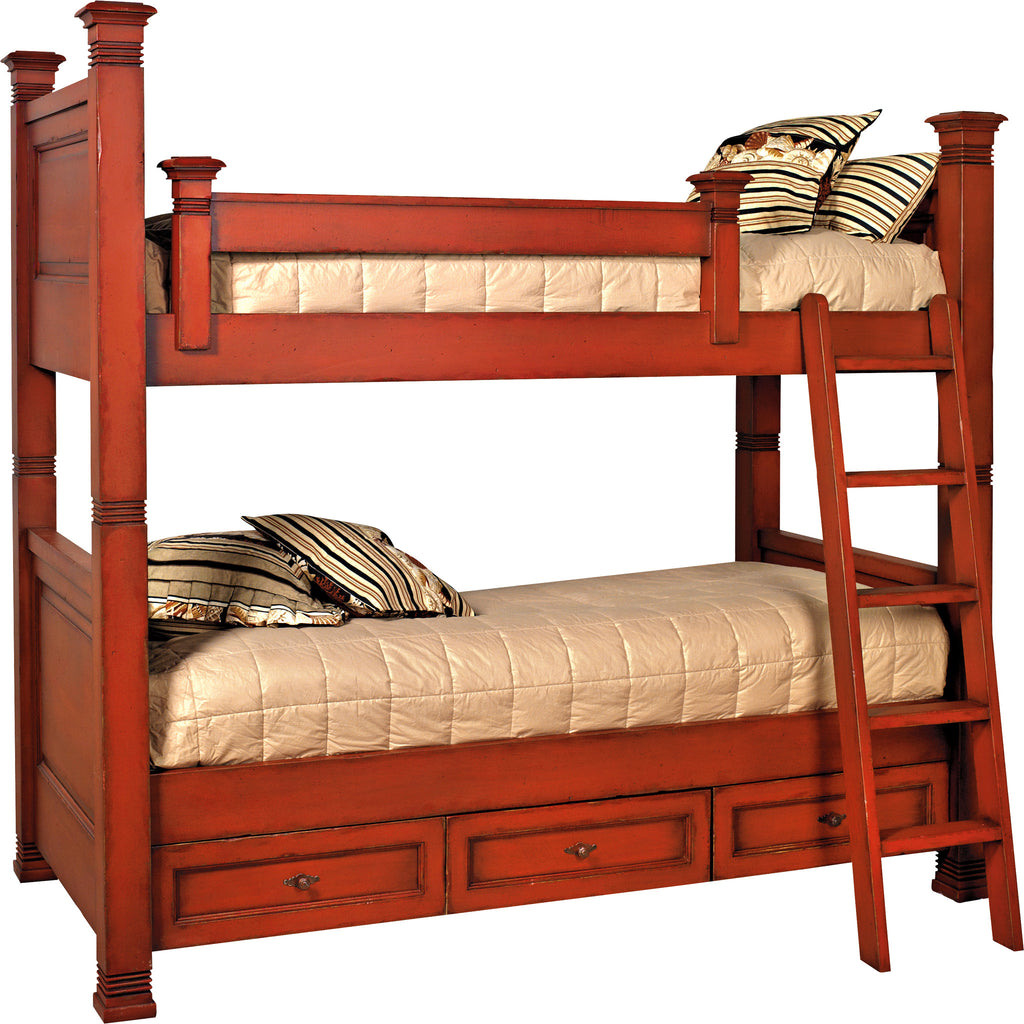 Old Biscayne Distressed Lisette Bunk Bed 4646B