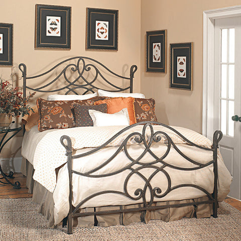 old biscayne florence antique wrought iron bed