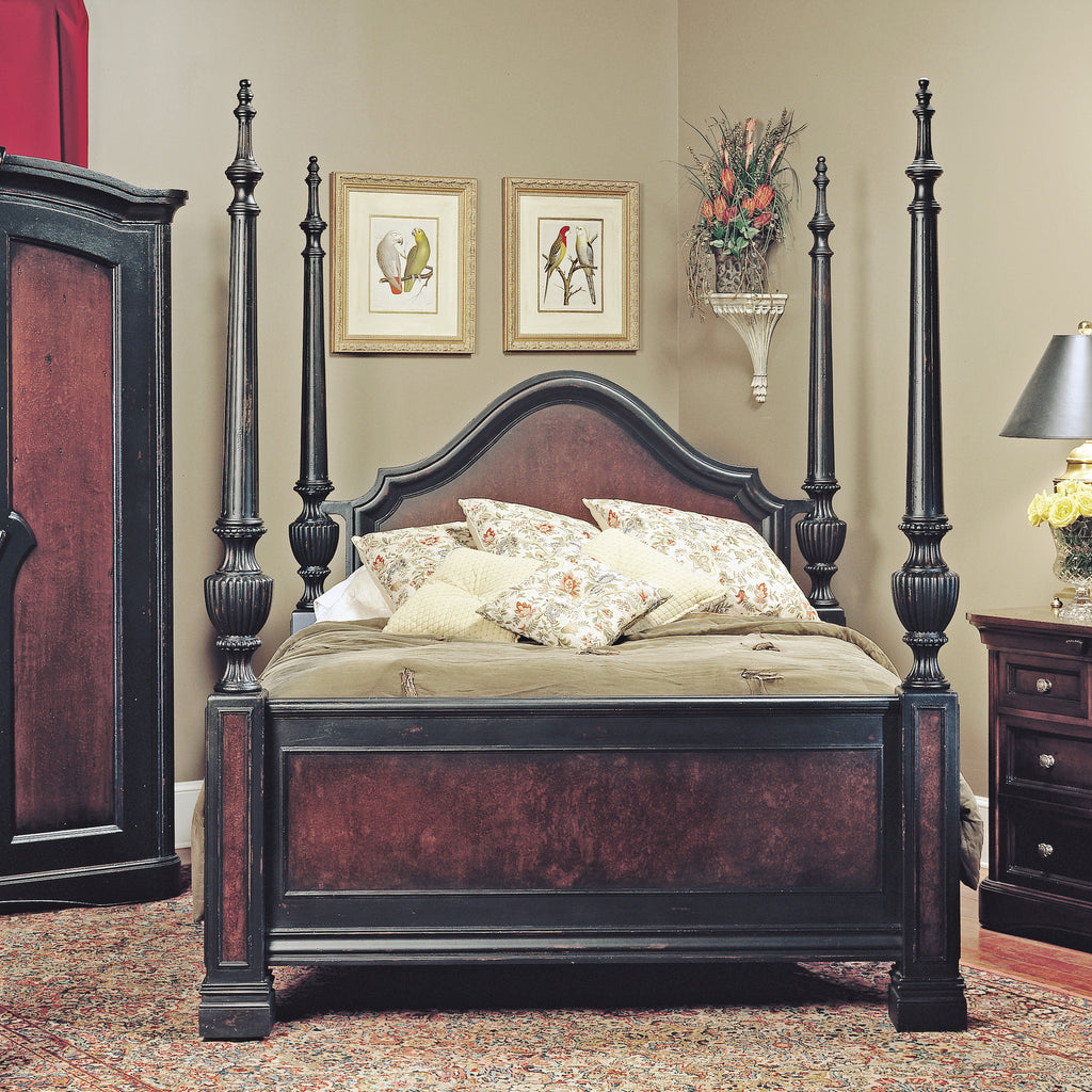 Old Biscayne Giselle Distressed Bed