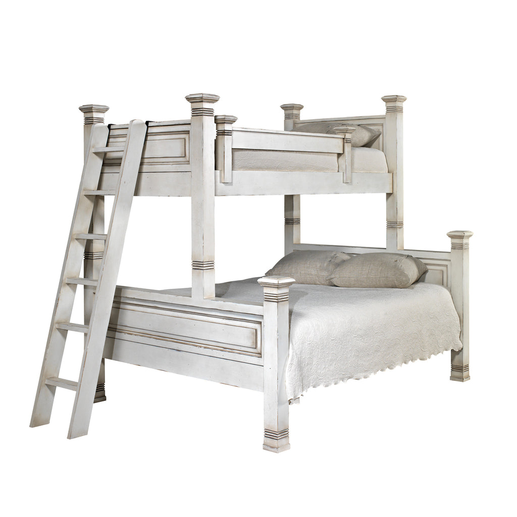 Old Biscayne Lisette Twin over Queen Bunk Bed