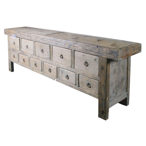 Old Pine Drawer Bank