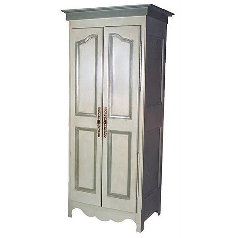 Petite French Armoire Entertainment Center
