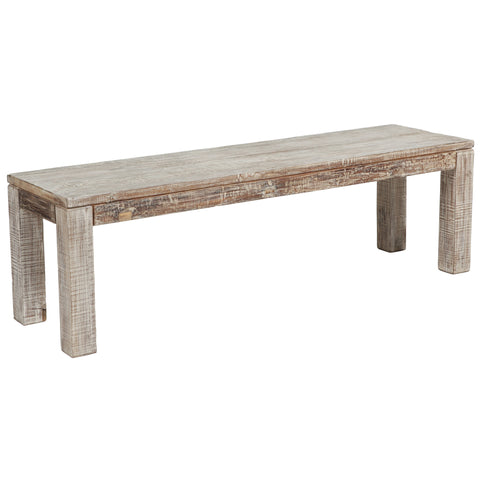Reclaimed Wood 70 Inches Bench
