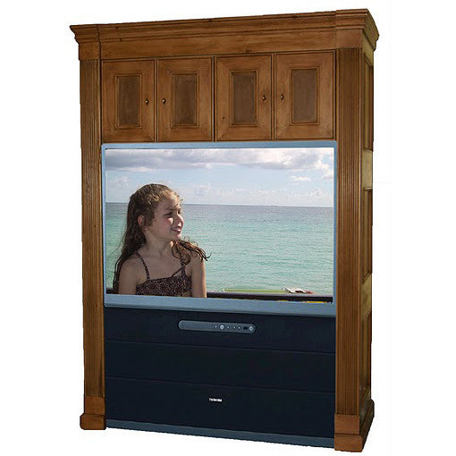 Saville Painted Row Big-Screen Entertainment Center