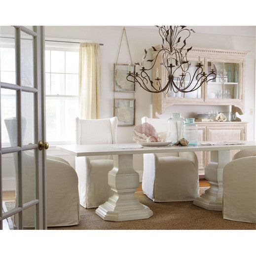 Somerset Bay Double Pedestal Killington Dining Table