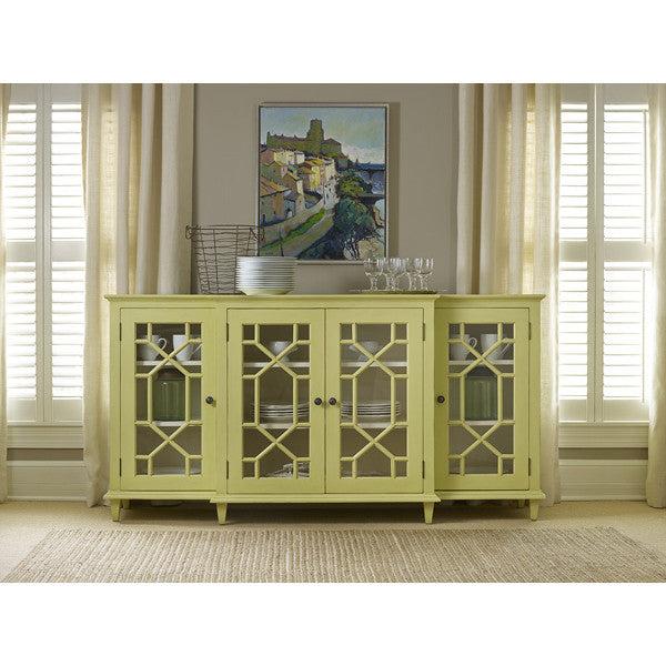 Somerset Bay Portland Sideboard with Glass Doors