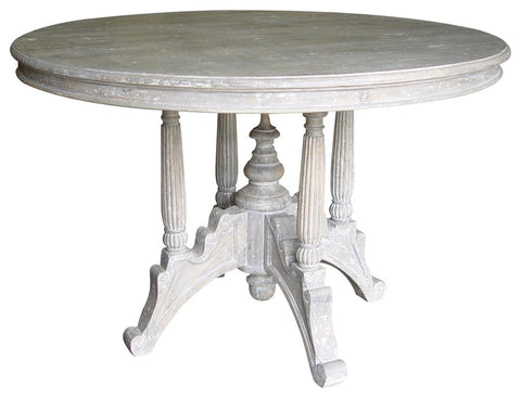 Cottage Pedestal Round Dining Table