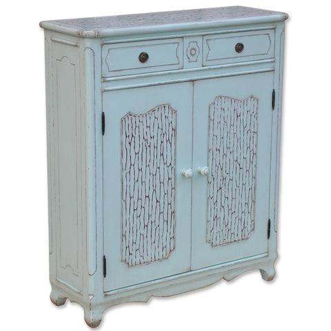 Coastal Bordeaux Hall Chest
