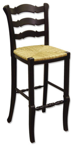 Bar Stool Constructed of solid mahogany