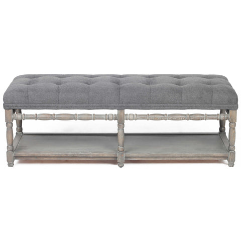 Larkin Tufted Bench