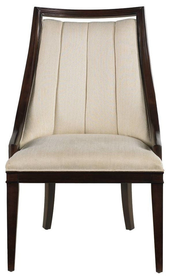 Continuum Upholstered Wood Frame Chair