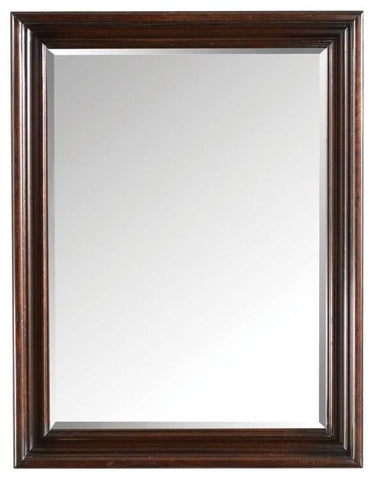 British Colonial Landscape Mirror