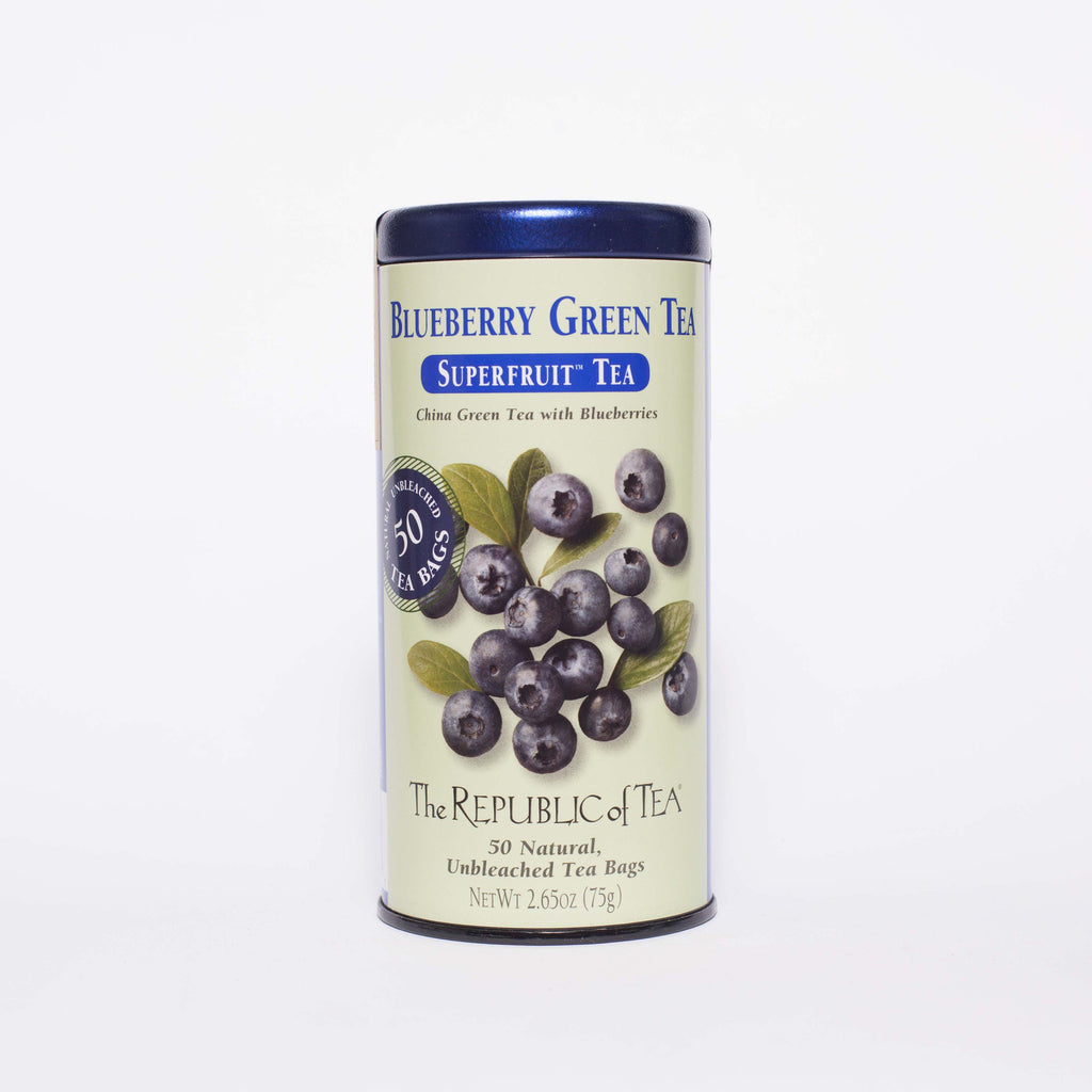 The Republic of Tea - Blueberry Green Tea