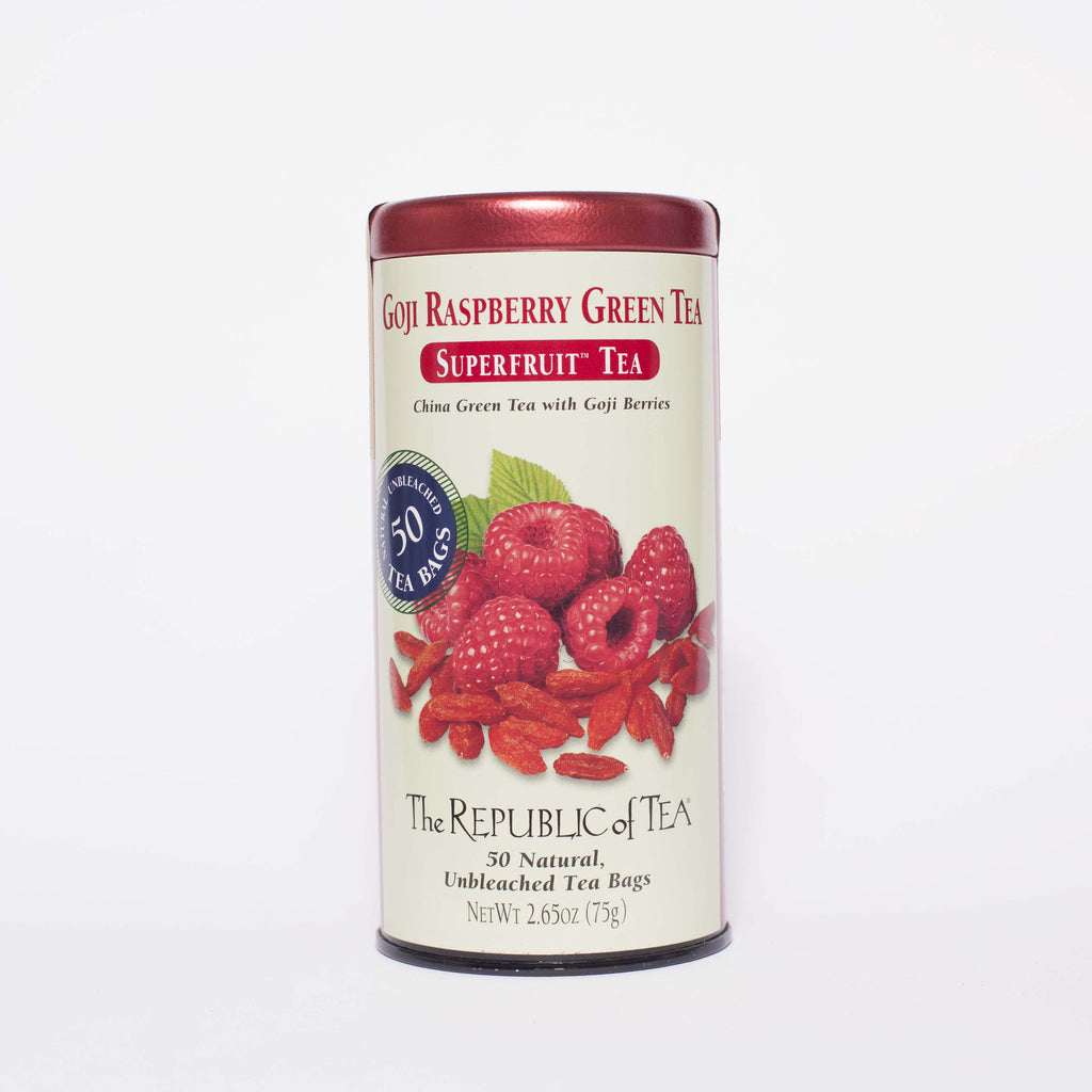 The Republic of Tea - Goji Raspberry Green Tea