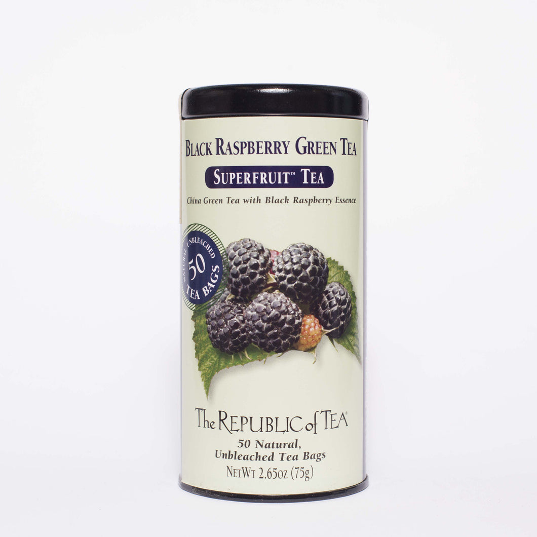 The Republic of Tea - Black Raspberry Green Tea