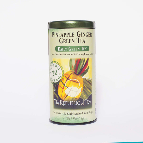 The Republic of Tea - Pineapple Ginger Green