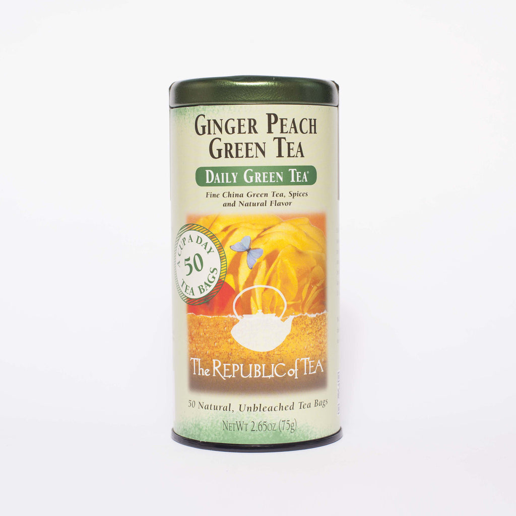 The Republic of Tea - Ginger Peach Green Tea