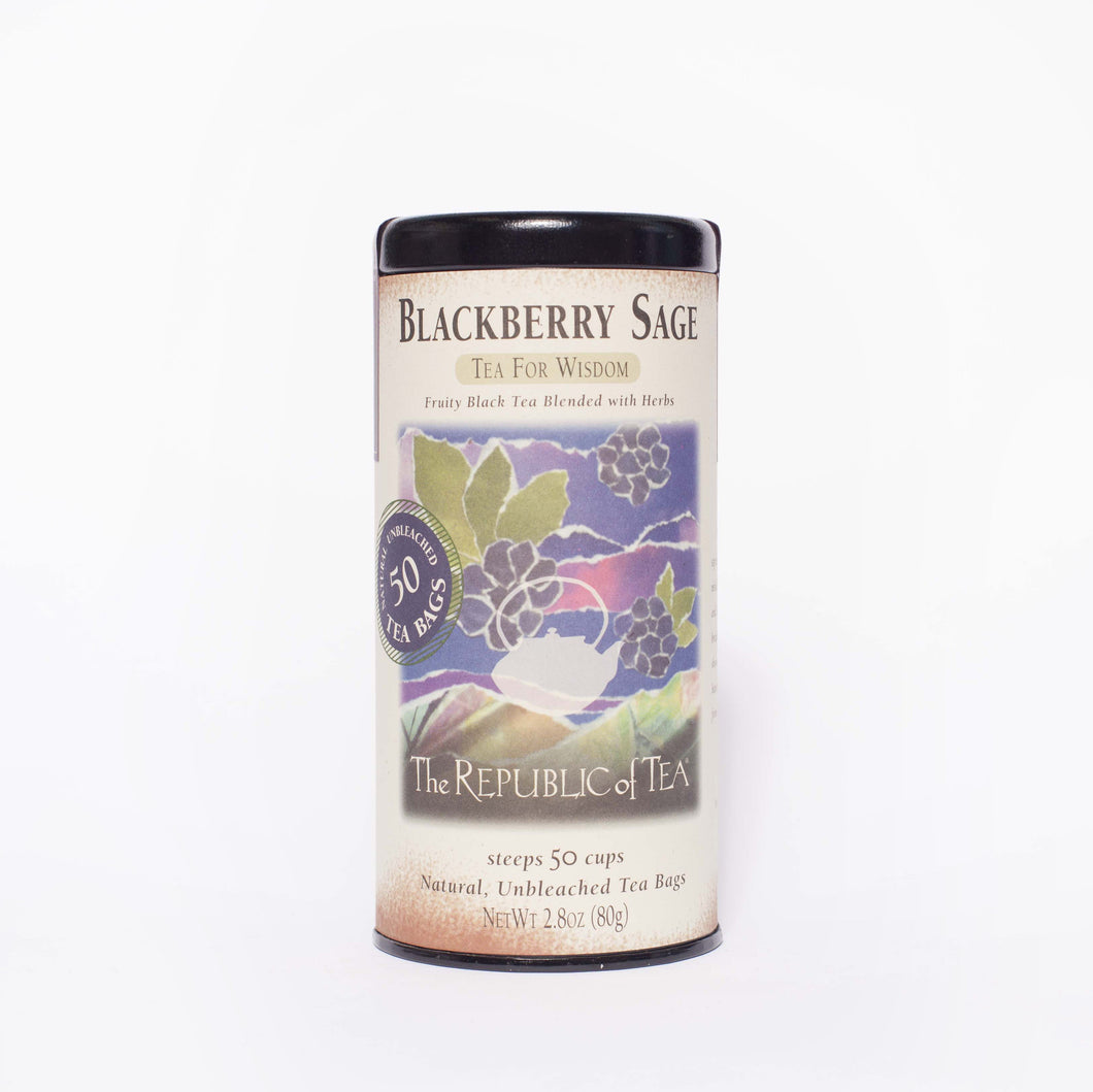 The Republic of Tea - Blackberry Sage