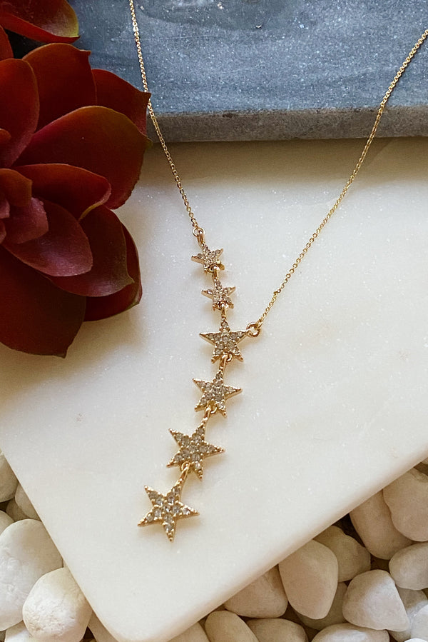 Traveling Star Y-Necklace