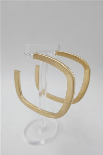 Overall Luxe Square Hoops