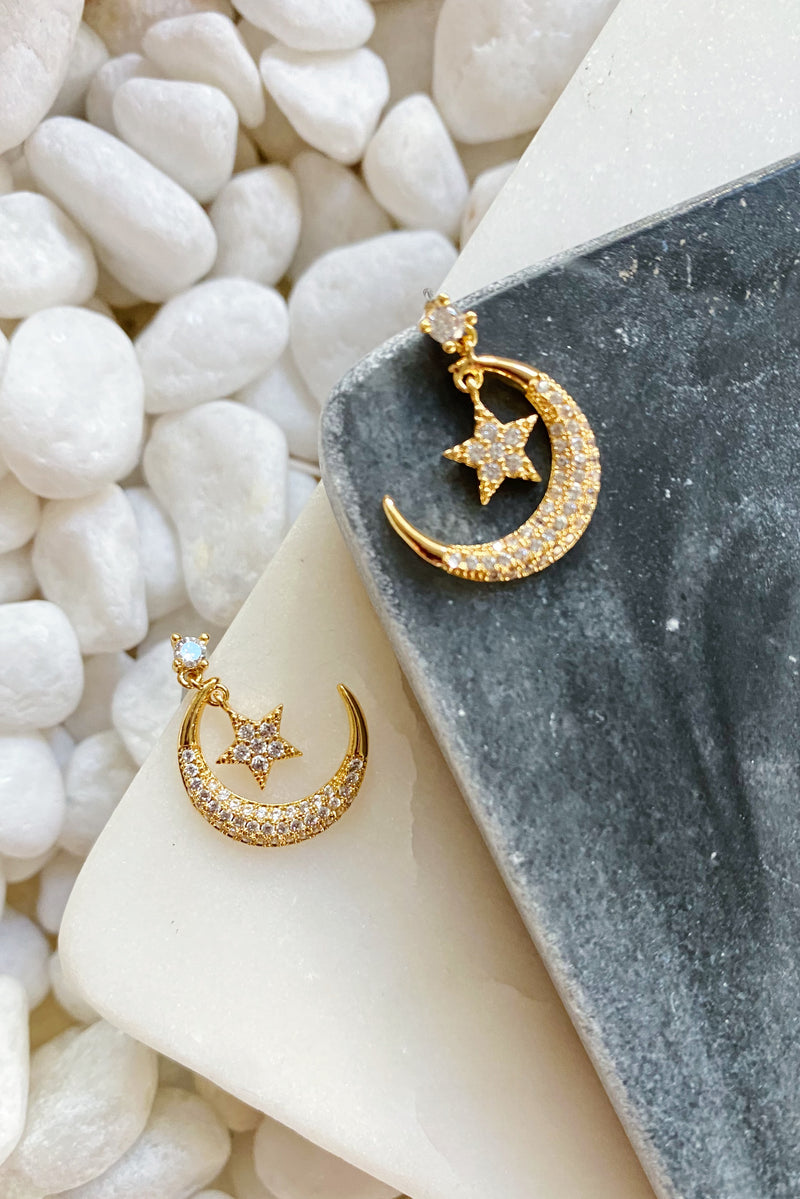 Dreamy Skies CZ Earrings
