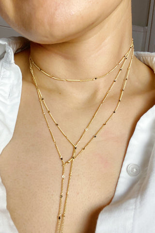 Show Me The Ways Necklace, Gold