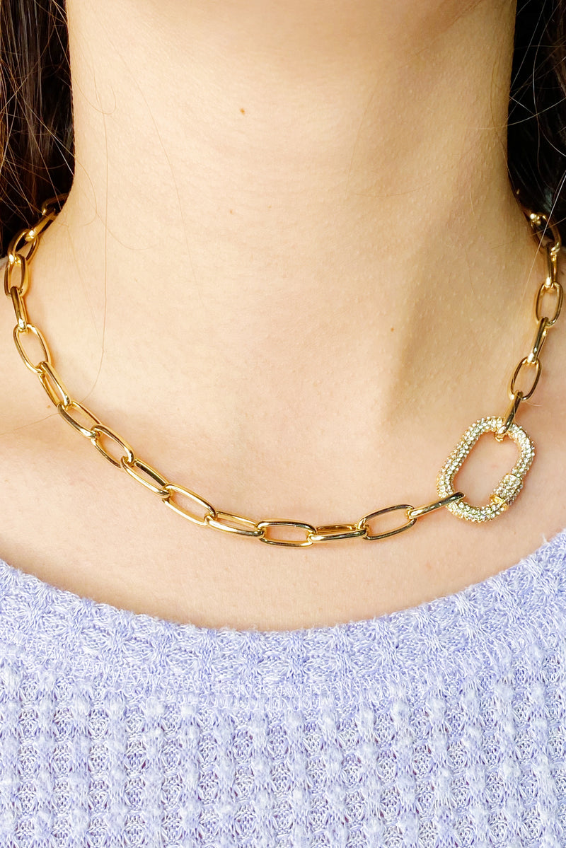 Standout Link Necklace