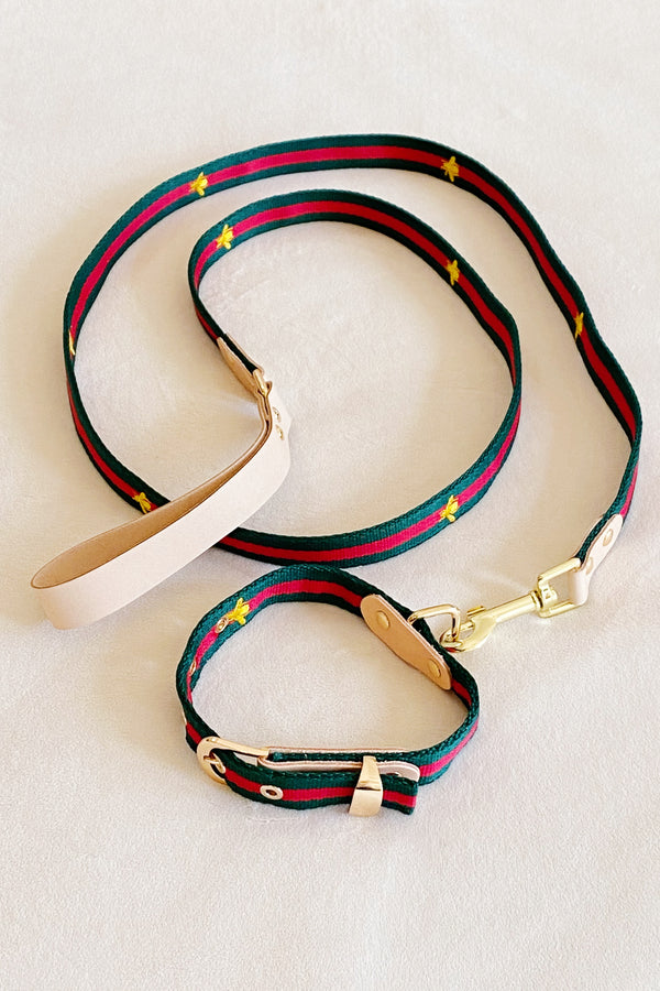 Luxe Dog Collar/Leash Set