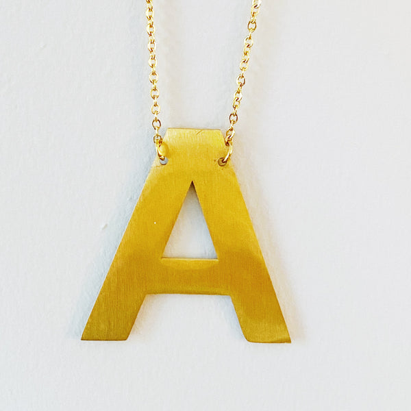 Ellison + Young: Boldly You Initial Necklace