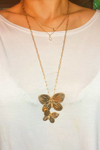 The Flight Of The Butterfly Necklace