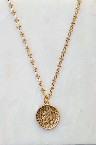 Old World Coin Necklace