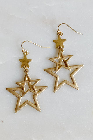 Stars On Stars Earrings