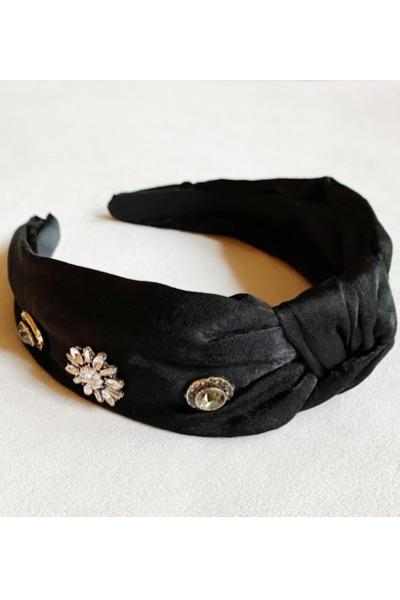 Jeweled Satin Headband