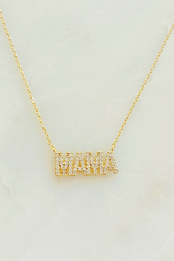 Shiny Mama Necklace