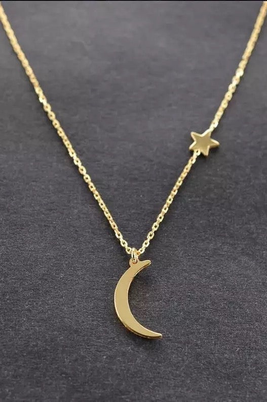 New Moon Necklace