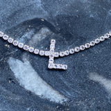 Sparkly Initial Anklet