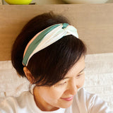 Blended Twist Headband, Sage