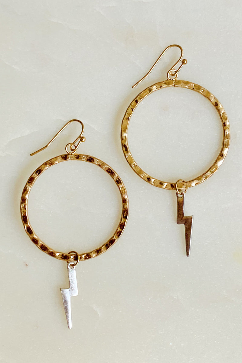 Bolted Dazzle Earrings