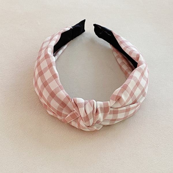 Sweet Gingham Headband