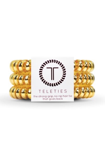Teleties Hair accessory, bracelet, gold bracelet, hair tie